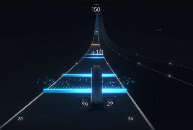 Compañía de bicicletas estáticas lanza videojuego de ejercicio interactivo