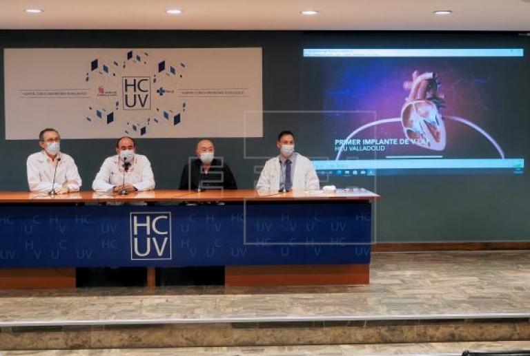 Valladolid y Barcelona implantan con éxito un sensor contra la fatiga cardíaca