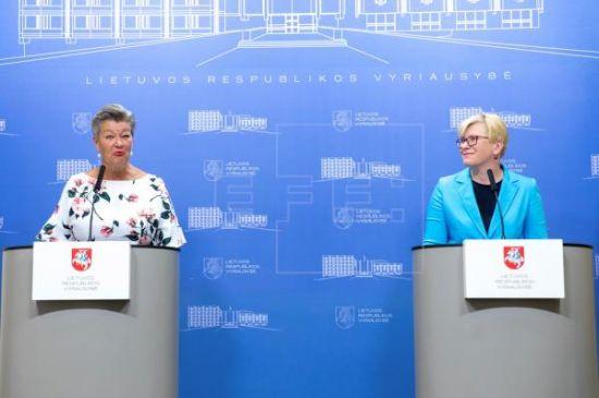 La UE promete ayuda a Lituania para hacer frente al flujo de migrantes